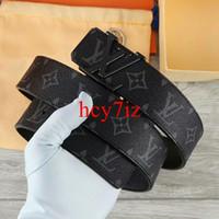 Wholesale designer belt v resale online - 2019 V mens designer belts New women Genuine Leather belt pin buckle Korean wild for men casual leather belt strap belt box