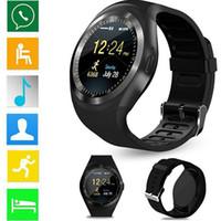 ingrosso connettività mobile-Touch control alta risoluzione orologi intelligente braccialetto stile Bluetooth Collegare la salute informazioni di monitoraggio intelligente promemoria spingere Locat mobile