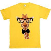 uzun tişört zürafa toptan satış-Uzun Boyun Zürafa Hipster T-Shirt Giyer beyaz siyah gri kırmızı tişört takım şapka pembe t-shirt RETRO VINTAGE Klasik t-shirt