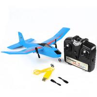 alas dron al por mayor-RC FX-807 Fly Bear glider 2.4G 2CH RC Avión Ala fija Avión al aire libre EPP drone sin escobillas mini drones con cámara hd wifi dron