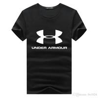 yüksek kaliteli giyim kadın artı boyutu toptan satış-Erkekler kadınlar T-Shirt Artı Boyutu S-4xl basketbol Giysi Spor Marka Baskılı Kısa Kollu Gömlek Yüksek Kalite T Gömlek Casual Pamuk erkek