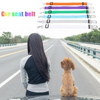 Wholesale accessories for travel for sale - Group buy New Car Restraint Dog Safety Belt Adjustable Safety Seat Belt for Dog Practical Car Pet Lead Travel Leash Auto Accessories Tools