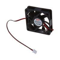 ventilador de 12v para enfriamiento. al por mayor-DC 12V 2pins de enfriamiento del ventilador de 60 mm x 15 mm para la caja de la PC del ordenador CPU Cooler