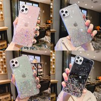 Wholesale star glitter rhinestone case online – custom Luxury Bling Glitter Star Case For iPhone Pro Max Case iPhone X XR Xs Max s Plus Soft Silicone Cover Phone Back Cases