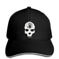 schwarze schädelmütze der männer großhandel-Baseballmütze für Herren Herren Skyrim The Dark Brotherhood Skull Black Door Black