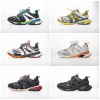 ingrosso tacchi gialli-balenciaga shoes Nuova qualità Track 3.0 Tess Paris Gomma Meille tacco basso giallo 3M S scarpe sportive designer sneaker 36-45