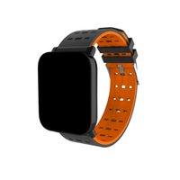 калорий отслежыватель смотреть оптовых-Новое прибытие A6 Fitbit Спорт смарт-группа артериального давления смарт-браслет монитор сердечного ритма калорий трекер IP67 водонепроницаемый браслет часы