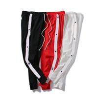 jogger calças estrelas venda por atacado-3 Cores Mens Calças Basculador de Luxo Carta e Estrelas Impresso Sweatpants Homens Casuais Cordão de Corrida Calças de Jogging Frete Grátis