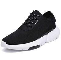 precio de malla de zapatos al por mayor-2019new marca tendencia de moda cómodo transpirable zapatos casuales zapatos planos de malla zapatos de hombre precio de fábrica 39-44 tamaño