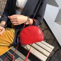 Wholesale saddle color resale online - Elegant2019 Genuine Woman Leather Head Layer Cowhide Saddle Package Temperament Joker Single Shoulder Span Handbag