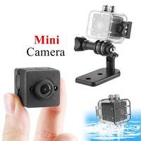 video kamera avi toptan satış-Mini Kamera SQ11 SQ12 Kaydedici Hareket Sensörü Full HD 1080 P Gece Görüş Su Geçirmez Kabuk Mikro Kamera AVI Video Kamera Kaydedici