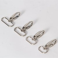 Wholesale metal chain lobster clasp for sale - Group buy 100pcs X3 Metal Luggage bag Dog buckle Snap hook Bag hanger Lobster Clasp DIY Sewing handmade Key chain buttons AU351 SH190919