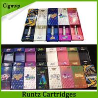 Wholesale metal atomizers for e cigarettes resale online - Runtz Vape Cartridges Carts Packaging Flavors For Option E cigarette Empty Pen ml ml Oil Cartridge Vaporizer Atomizer