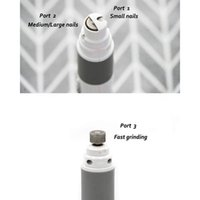 Wholesale nail smoother resale online - Dog Nail Grinder Professional Speed Electric Rechargeable Pet Nail Trimmer Painless Paws Grooming Smoothing for Small Medium L