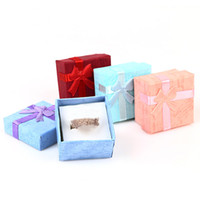 Wholesale dropship necklaces for sale - Group buy Necklace Earrings Ring Packaging Jewelry Paper Gift Box Accessories Packaging Paper Bags for Gifts cajas de regalo Dropship