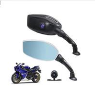sürüş rekoru kamera toptan satış-Motosiklet DVR 1080 P tek Çift Kamera Sürüş Kaydedici çift kayıt gizli sürüş kaydedici Motosiklet sürüş kaydedici LJJK1534
