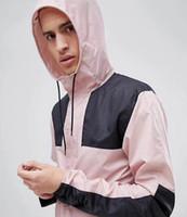 casacos de mola de nylon venda por atacado-Cara Mens Designer Blusão Jaquetas Esportes Luxo Masculino Moda Casual Nylon Primavera Outono Casacos