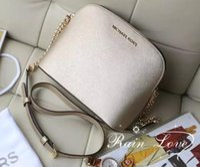 beden durumu toptan satış-Michael Kors ACE Avrupa ve Amerika Birleşik Devletleri popüler el-çivili yemek çantası çapraz vücut zincir çanta 2018 yeni moda zincir omuz çantası # 33