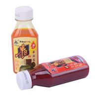isca aditiva venda por atacado-90 ml isca de pesca Artificial isca líquido carpa sabor aditivo fishy cheiro garrafa