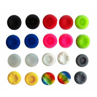 Wholesale grip cap button for sale - Cheap Silicone Thumb Stick Grips Joystick Button Caps Cover for PS4 PS3 XBOX Gamepads Handle Dust proof Rocker Hats
