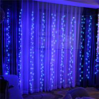 Wholesale led bulb round for sale - Group buy LED curtain lights Christmas wedding holiday string lights LED decorative lights fairy light bulb garland party garden curtains decoration
