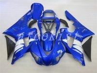 ingrosso yamaha yzf r1-Nuovi kit carene ABS per YAMAHA YZF-R1 98 99 YZF1000 1998 1999 R1 carenature personalizzate blu