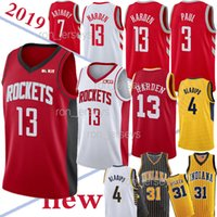 Wholesale 31 basketball resale online - TOP NCAA Harden jerseys Houston Miller Chris Paul Oladipo Hot Sale Jersey New Stitched jersey
