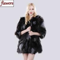 меховая мода россия оптовых-New Russia Winter Lady Real  Fur Jacket Natural Soft Silver  Fur Coat Women Fashion Warm 100% Genuine Outerwear