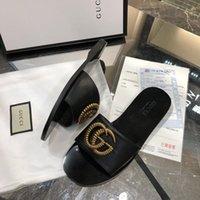 ingrosso stivaletti vendita-Designer all-ingrosso pantofole di lusso Flip Flop Rihanna asso sandali donna antiscivolo pantofole infradito pantofole stivaletti taglia 35-42