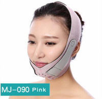 slim lift minceur shaper achat en gros de-Visage mince Masseur Visage Minceur Ceinture Masque Facial Massager Outil Anti Rides Réduire Double menton Bandage Visage shaper