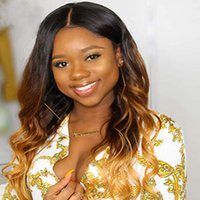 Wholesale ombre human hair bundles for sale - Group buy Ombre Color Human Hair Bundles Body Wave Brazilian Peruvian Indian Malaysian Virgin Remy Human Hair Extensions inch