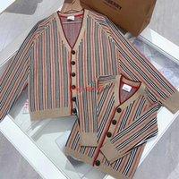 chaquetas infantiles de punto al por mayor-Chaqueta de niña Chaqueta de punto para niños Chaqueta suelta Cómoda de moda Clásica Chaqueta de punto nueva