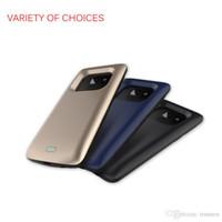 caisse de puissance pour samsung achat en gros de-2018 Power Banks Portable chargeur couverture de téléphone noir bleu or couleur chargeur cas pour Samsung S9 plus 5200mAh