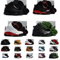 zapatos de baloncesto para niños talla 13 al por mayor-13s atléticos del bebé del diseñador 13 para niños zapatos de baloncesto de niños, jóvenes, Calzado deportivo para los zapatos de las muchachas del muchacho envío libre tamaño: 28-35
