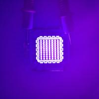 bulbo uv de alta potência venda por atacado-10 w 30 w 50 w 100 w uv luz led 45mil ultra violeta de alta potência LED bulbo uv 365nm 375nm 385nm 395nm 405nm levou ultra violeta luz contas