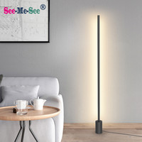 boden stehende beleuchtung großhandel-Moderne minimalistische Nordic Stehleuchten LED Stehleuchten Kreativ für Wohnzimmer Led Stehleuchten Gulvlampe
