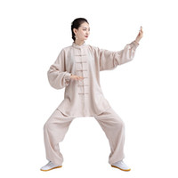 ingrosso abbigliamento donna wushu-tute da donna Wushu Kung Fu tuta cinese tradizionale stile Tang imposta unisex arti marziali Tai Chi uniforme esercizio abbigliamento