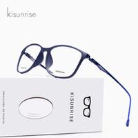 Wholesale titanium prescription glasses for sale - Group buy KISUNRISE TR90 Titanium Glasses Frame Men Myopia Eye Glass Prescription Eyeglasses Korean Screwless Optical Frames Eyewear KS003