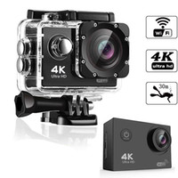 HD 4K WIFT action Camera vedio digital Camcorder 30M sport DV 2.0 inch Screen 720P waterproof Helemt Cam