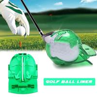 forro de golf al por mayor-Golf Scribe Accesorios Suministros Pelota de golf transparente Green Line Clip Liner Rotulador Plantilla Alineación de marcas Marcación de herramientas