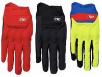 ingrosso guanti per il ciclo completo di dito-2019 nuovi Mens guanti da ciclismo estate traspirante guanti sportivi da moto bici antiscivolo bicicletta equitazione dito pieno guanti lunghi TAGLIA M L XL