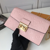 Wholesale womens wallets leather resale online - Designer handbags womens designer luxury handbags purses leather handbag wallet shoulder bag tote clutch women wallet backpack bags M62020