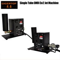 Wholesale shooting machines resale online - Single Tube CO2 Machine Jet Effect Stage Lighting co2 shooting effect DMX512 Column Jet Equipment V V TP T27