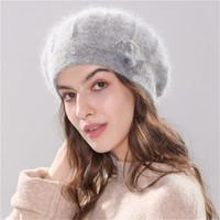 Wholesale crochet baggy hats for sale - Group buy Warm Knit Ski Headgear Autumn winter Headdress Women Baggy Crochet Wool Beanie Slouchy Cap Hat Gorro De Otoño E Invierno