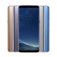двухъядерные сотовые телефоны с сенсорным экраном оптовых-Восстановленное Samsung Galaxy S8 G950 5,8 дюйма 4 ГБ ОЗУ 64 ГБ ПЗУ Двойная камера заднего вида 4G Мобильный сотовый телефон (заводская герметичность)