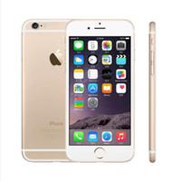 Wholesale phone i6 online – custom Original inch Apple IPhone support real G real fingerprint GB GB IOS phone i6 Refurbished Smartphone Cell Phones ePacket Free