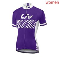 Wholesale kuota cycling team resale online - 2018 KUOTA LIV team Cycling Short Sleeves jersey Simple Style Bikes Clothing Comfortable and quick dry c1411