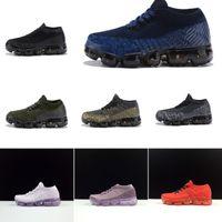 ingrosso scarpe da basket di huarache dell'aria-Nike air max 2018 Scarpe da ginnastica per bambini Bambini Ragazzi Scarpe da basket Bambino Huarache Legend Blu Sneakers firmate Taglia 28-35