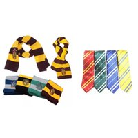 Wholesale cosplay gryffindor resale online - Gryffindor College Scarf Slytherin Charles Tie Pachis Letterclaw Performance Prop Multi Colors Cosplay High Quality Hot Sale yda D1