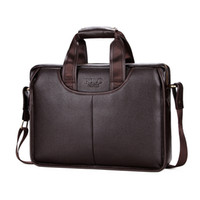 классическая сумочка оптовых-2019 POLO Classic Design Large Size Leather Briefcases Men Casual Business Man Bag Office Briefcase Bags Laptop handbag L147